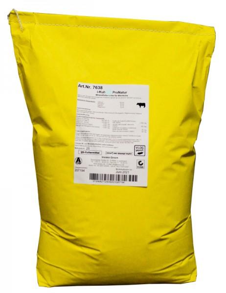 i-Kuh 1,8:1 ProNatur, Mineralfutter für Milchkühe, zertifiziert durch QAL GmbH DE-ÖKO-060, hergestellt nach den Vorgaben von Bioland