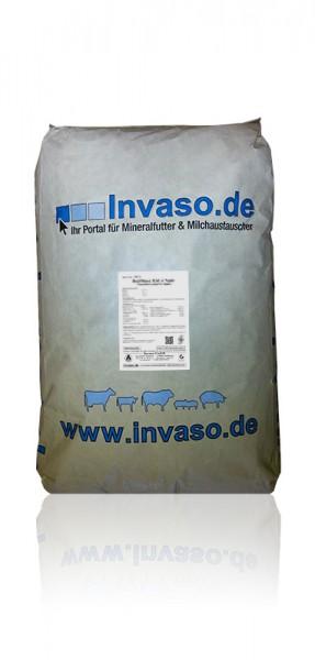 Mineralfutter für Kälber, mit organisch gebundenen Spurenelementen und Probiotika, Invaso GmbH
